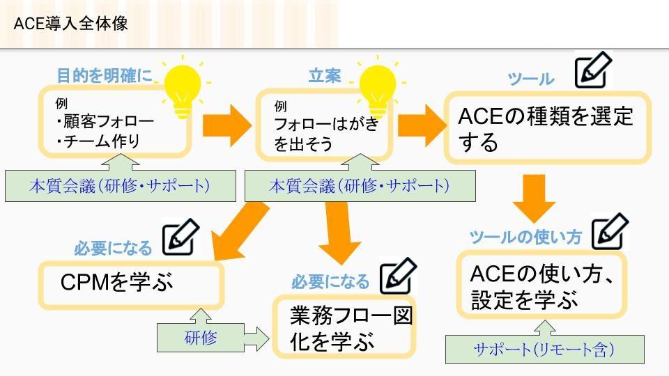 ACE導入の全体図
